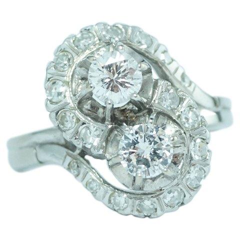 brugte diamantringe